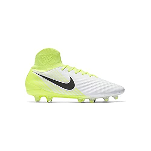 save off 5f89d e8f49 cheap Nike Men s Magista Orden Ii Fg White Black Volt Wolf Grey Soccer