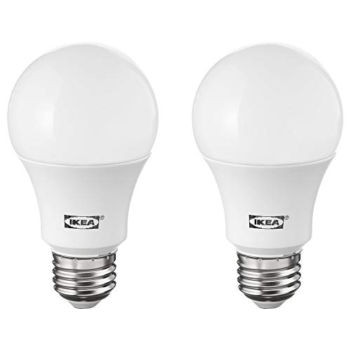 IKEA 004.133.93 Ryet Led Bulb E26 1000 Lumen, Globe Opal