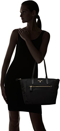 e0bcc2c90a0237 Michael Kors Womens Nylon Kelsey Md Tz Tote Tote Black (Black):  Amazon.co.uk: Shoes & Bags