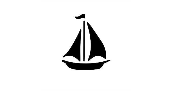 Amazon com: Sail Boat Sailing Nautical Maritime Vinyl Die