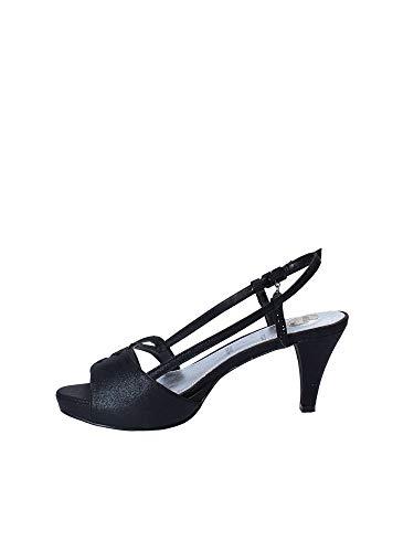 Sandalo tacco Osey nero donna alto Sa0569 PHFwr7fPq