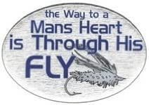 Fly Hitch Cover Knockout 579H The Way to a Mans Heart is Through his Fly