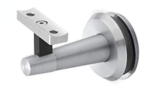 CRL Blumcraft WBNSCM Pacific Series Mill Aluminum Glass Mounted Hand Rail Bracket