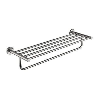 Bathroom Shelf High Quality Stainless Steel Stainless Steel Iron 1 Pc Hotel Bath Double