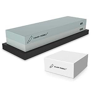 Amazon.com: Piedra de afilado premium Whetstone 2 lados para ...