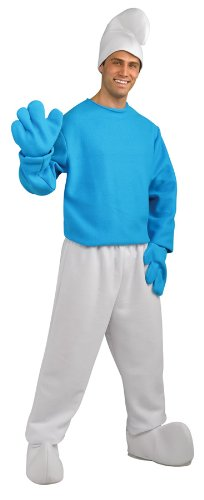 Smurf Costume For Adults (SMURFS DLXE SMURF ADULT XL)