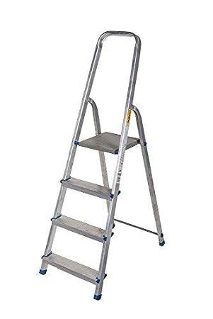 Top Alu Leiter 3 bis 8 Stufen Haushaltsleiter Malerleiter Mehrzweck XM48