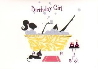 Birthday girl girl in glitter bubble bath papyrus birthday birthday girl girl in glitter bubble bath papyrus birthday greetings card m4hsunfo