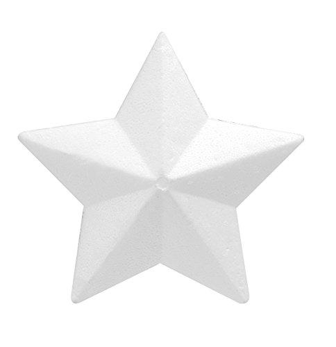 Glorex 38038236Styrofoam Polystyrene Star–White, 15x 15x 4cm