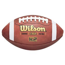 Wilson K2 Traditional PeeWee Game Football F1382 ( ()