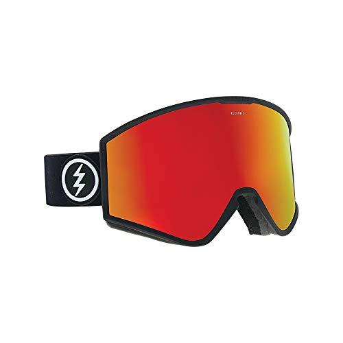 Electric Kleveland Ski Goggles, Matte Black/Brose/Red Chrome