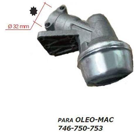MARBEGARDEN Codo transmision desbrozadora Oleo-Mac 746 753 755: Amazon.es: Jardín