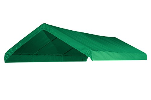12' X 20' Canopy Replacement Cover (Green) - For Frames 10' W X 20' L (See Diagram)
