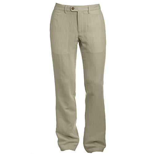 (Tommy Bahama Monterey Flat Front Pant (Dusty Mahogany, 40 x 34))
