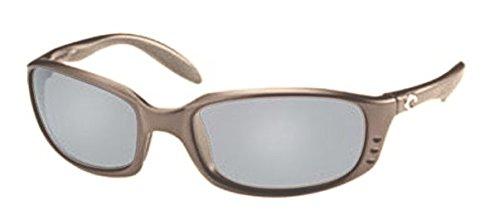 Costa Del Mar Brine Sunglasses, Crystal Bronze, Silver Mirror 580P - Sunglasses Direct E