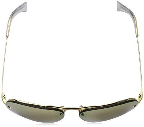 para Hombre Gafas Rb3449 de Ban Mirror Gold Sol Copper Marrón Ray qaZXFc