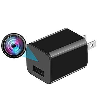 QBAOTE Spy Camera, Hidden Camera, Premium Pack, HD 1080P, Motion Detection, USB Hidden Camera, Surveillance Camera, Mini spy Camera, Nanny Camera