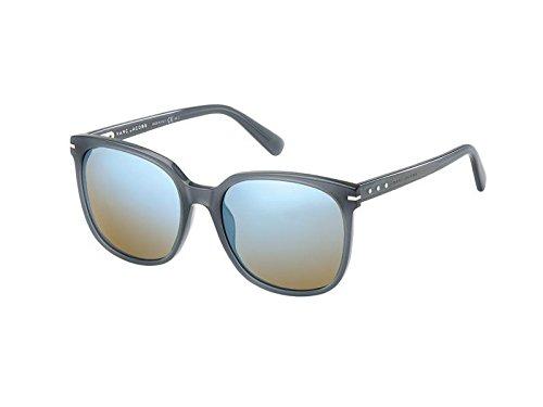 Marc Jacobs MJ562/S Sunglass-0RU2 Gray Opal (3U Khaki Mirror Blue Lens)-57mm