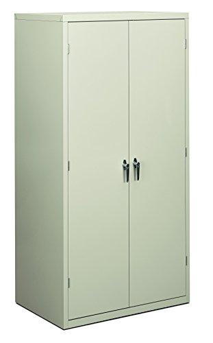 HON Brigade Series Five-Shelf Storage Cabinet - High Storage Cabinet, 36w by 24d by 72h, Light Gray (HSC2472)