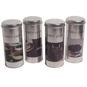 Küche B Ware | 4 Kaffeedosen Fur Senseo Pads Kaffeepads B Ware Amazon De Kuche