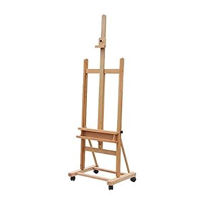 Easel Nationwel@ Beech, Mobile Elevating, Luxury Vertical, Advertising Rack, Folding Sketch Wood