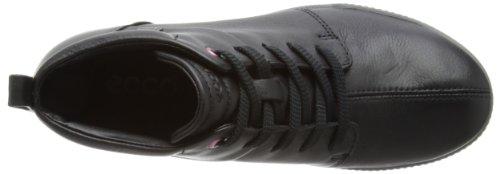 11001 Crisp Senza Black Nero Schwarz Donna Chiusura Stivali ECCO 8wPdx744