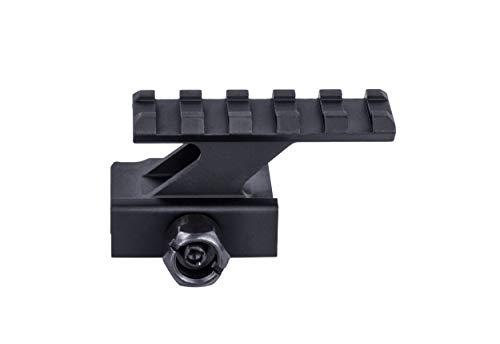 Riser Mount Rail (Monstrum Tactical Lockdown Series Lightweight Riser Mount | High Profile | 2.2 inch L / 5 Slot)