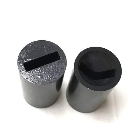 Blast Banana (Maslin Flat Hole Boron Carbide Sand Blast Nozzle, B4C sandblasting Nozzle 4x20x35mm)