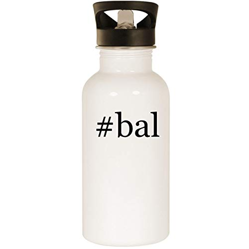 #bal - Stainless Steel 20oz Road Ready Water Bottle, White -