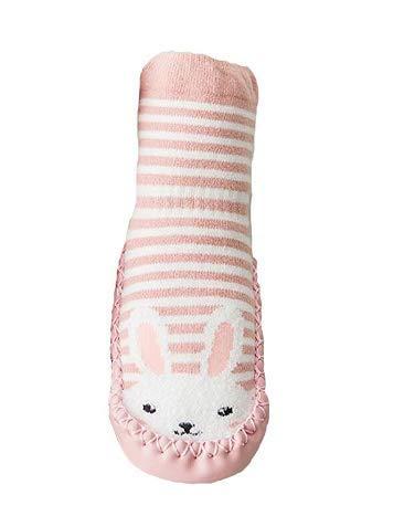 MOCHO AM Calcetines antideslizantes para bebé, niñas y niños recién nacidos, calcetines suaves de