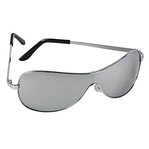 Sleek One Way Mirror Wrap Around Aviator Sunglasses w/ 400 UV Protection & HQ Micro Fiber - Wrap Sunglasses Around Aviator