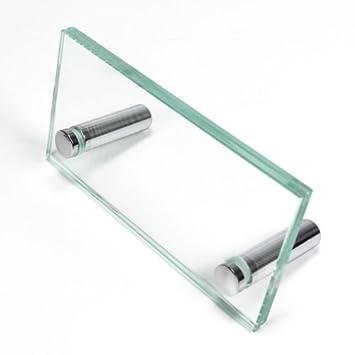 Glas Tischaufsteller 120 X 60 Mm Big Foot Visitenkarten