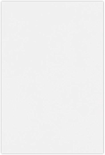 12 x 18 Cardstock - 236lb. Brilliant White - 100% Cotton (50 Qty) | Perfect for Holiday crafting, invitations, scrapbooking and so much more! | 1218-C-236SBW-50 by Envelopes.com