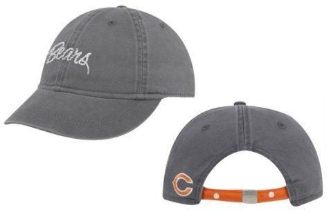 Reebok Chicago Bears Charlie Bling Women's Adjustable Slouch Cap (Charlie Womens Hat Adjustable)