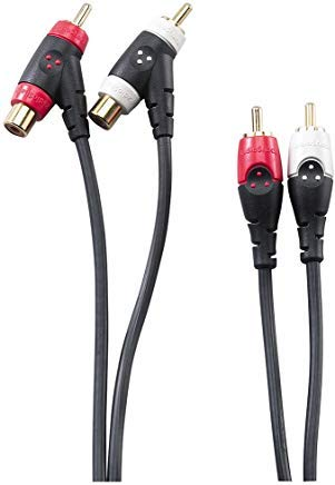 RadioShack 6-Foot Gold-Plated Piggyback RCA Audio Cable