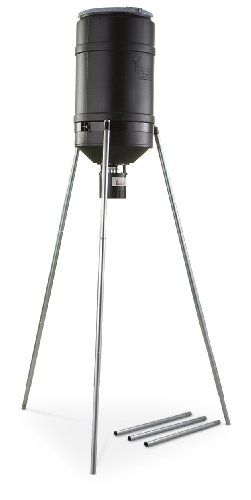 American Hunter Tripod Feeder Digital 225 lb. Capacity Black