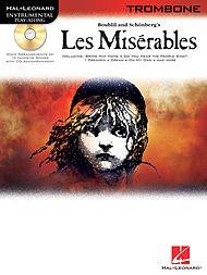 Hal Leonard Les Miserables for Trombone - Instrumental Play-Along Book/CD Les Miserables Trombone