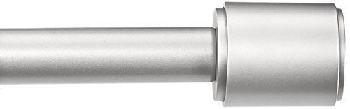 AmazonBasics Curtain Rod Finials Nickel