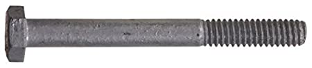 100-Pack 1//4-Inch x 5-Inch The Hillman Group 811527 Hot Dipped Galvanized Hex Bolt