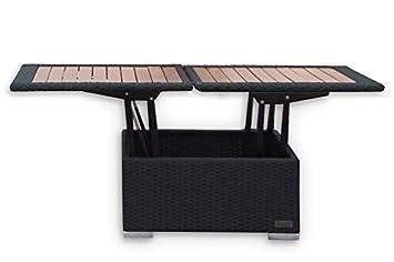 Amazonde Outflexx Höhenverstellbarer Loungetisch Aus Hochwertigem