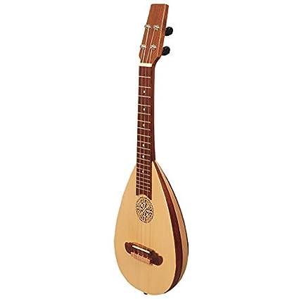 Heartland ukelele barroco, concierto de 4 cuerdas de palisandro ...