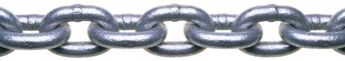 (Campbell 0143536 System 3 Grade 30 Low Carbon Steel Proof Coil Chain in Square Pail, Hot Galvanized, 5/16