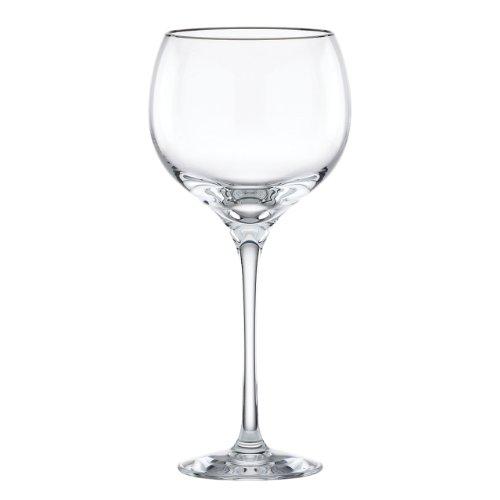 Lenox Solitaire Platinum Signature Crystal Goblet (Lenox Solitaire White Dinnerware)