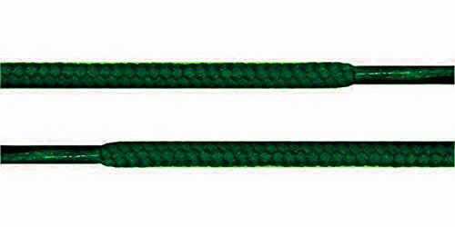 YD Shoestring - Shoe String Round Athletic shoelace Sneaker 54 inch ROUND SHOELACES Color Hunter Green