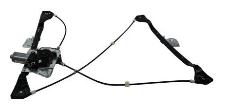TYC 660170 Pontiac Grand AM Front Driver Side Replacement Power Window Regulator Assembly with Motor by TYC (Power Pontiac Regulator)