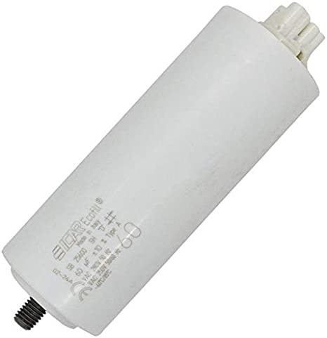 Anlaufkondensator Motorkondensator 60µf 280v 45x115mm Stecker 6 3x0 8mm Icar 60uf Beleuchtung