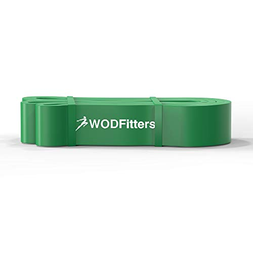 WODFitters Resistance bands Green - Single Band Assisted Pull-up Resistance Band Cross Fitness Training Power-lifting by WODFitters (Image #3)