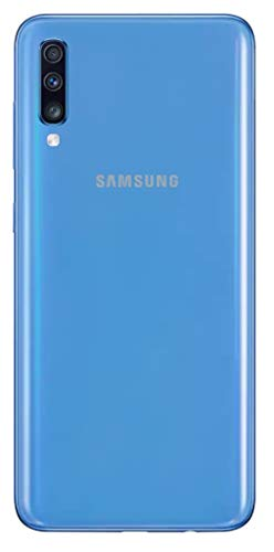 Samsung Galaxy A70 A705M 128GB Dual SIM GSM Unlocked Android Phone W/ Dual 32MP Camera - Blue (Renewed)