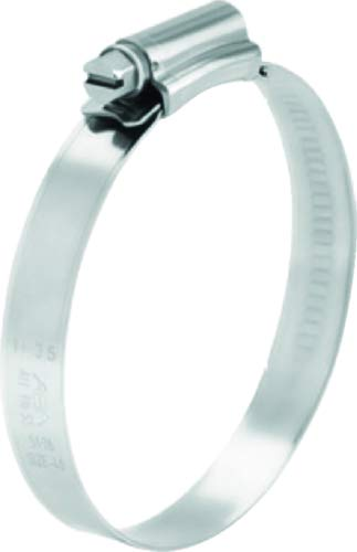 Scandvik 08134037024 Stainless Steel Hose Clamp (SAE Size 10, 19-28 mm, 3/4