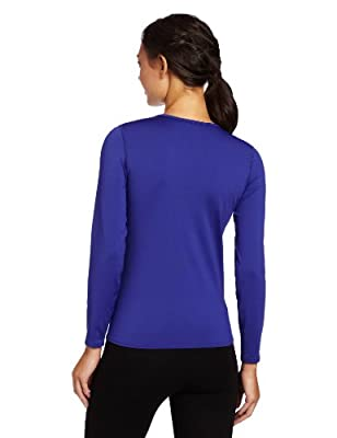 Hot Chillys Women's Micro-Elite Chamois 8K Crew Neck Top